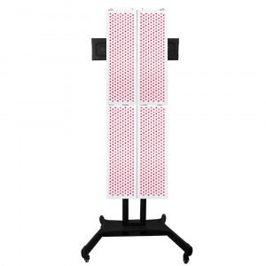 4x 1500w Red 660 & NIR 850 Light Therapy LED Panels With Adjustable Vertical Stand Modular PDT